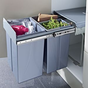 Image for Kitchen Pull Out  40 Litre Waste Bin
