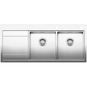 Image for BLANCO DIVON II 8 S-IF Stainless Steel Kitchen Sink Right Hand Bowl BL467024