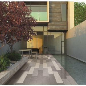 Image for Bradstone Stonemaster Granite - Mid Grey Washed 800x200
