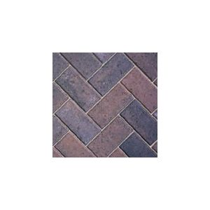 Image for Bradstone Driveway Burnt Oker Concrete Block Paving 200X100X50MM