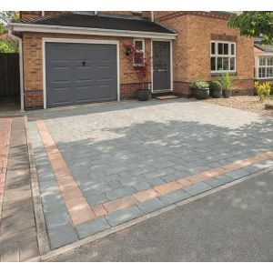 Image for Bradstone Monksbridge Grey-Green Block Paving (Mixed Pack)