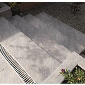 Image For Bradstone Mode Profiled Dark Grey Step