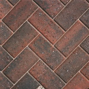 Image for Bradstone Driveway Brindle Concrete Block Paving 200X100X50MM