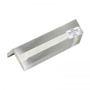 Image for Calder Aluminium Soakers 13'' x 6'' Bent 4'' x 2'' - Pack of 25