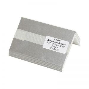 Image for Calder Aluminium Soakers 6'' x 7'' Bent 4'' x 3'' - Pack of 25