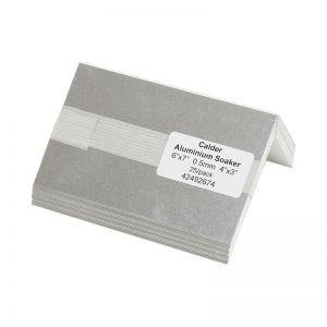 Image for Calder Aluminium Soakers 7'' x 7'' Bent 4'' x 3'' - Pack of 25