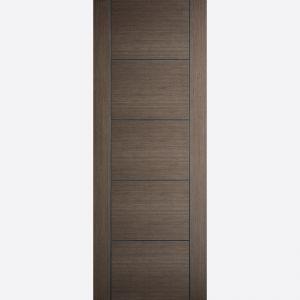 Image for LPD Vancouver Chocolate Grey Internal Fire Door