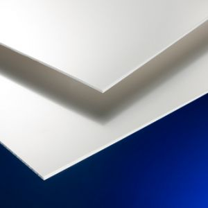 PVC Cladding Sating Solid Foam Roofing Sheet - 1220mm x 2440mm x 2.25mm