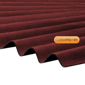 Corrapol-BT Red Corrugated Bitumen Sheet 930 X 2000mm
