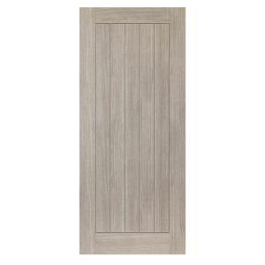 Image for JB Kind Colorado Grey Wood Effect Laminate Cottage Internal Fire Door