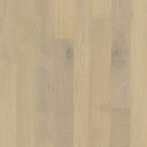 Quickstep Compact Oak Snowflake White Extra Matt Engineered Wood Flooring 1.58m2