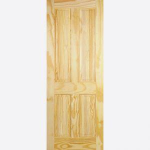 LPD Clear Pine 4 Panel Internal Door