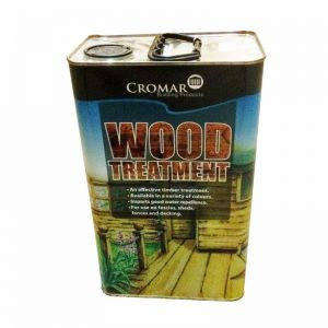 Image for Cromar Wood Treatment in Dark Brown - 25 Litres