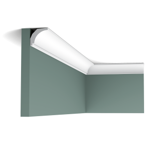 Orac Décor Extra Small Plain Duropolymer Coving - 29 x 30 x 2000mm