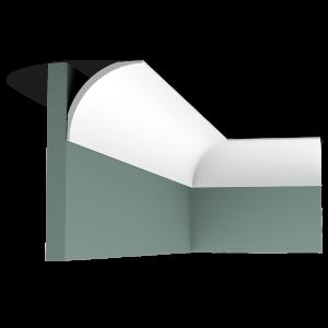 Orac Décor Plain Duropolymer Coving - 87 x 87 x 2000mm