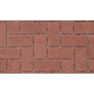 Marshalls Driveline Priora Permeable Red Block Paving - 200 x 100 x 60mm (8.08m2)