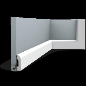 Orac Décor Cascade Multifunctional Duropolymer Cornice Moulding - 13 x 50 x 2300mm
