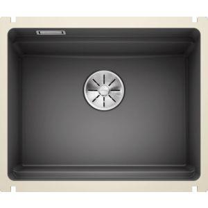 Image For Blanco Ceramic Kitchen Sink Etagon 500-U PuraPlus® Basalt - BL468559