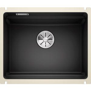 Image For Blanco Ceramic Kitchen Sink Etagon 500-U PuraPlus® Black - BL468560