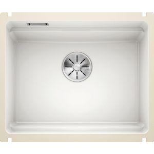 Image For Blanco Ceramic Kitchen Sink Etagon 500-U PuraPlus® Crystal White - BL468557