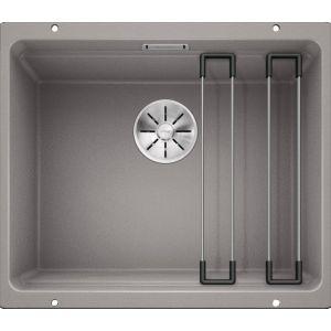 Image For Blanco Kitchen Sink Etagon 500-U Silgranit® Puradur® Alumetallic - BL468141