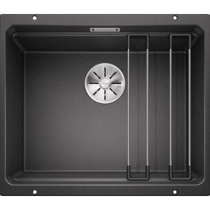 Image For Blanco Kitchen Sink Etagon 500-U Silgranit® Puradur® Anthracite - BL468130