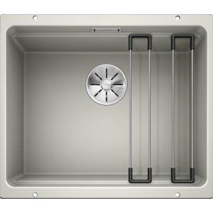 Image For Blanco Kitchen Sink Etagon 500-U Silgranit® Puradur® Pearl Grey - BL468146