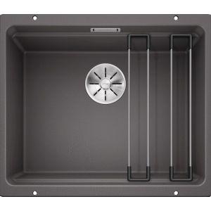 Image For Blanco Kitchen Sink Etagon 500-U Silgranit® Puradur® Rock Grey - BL468142