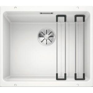 Image For Blanco Kitchen Sink Etagon 500-U Silgranit® Puradur® White - BL468139