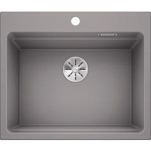 Image For Blanco Kitchen Sink Etagon 6 Silgranit® Alumetallic - BL468463