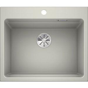 Image For Blanco Kitchen Sink Etagon 6 Silgranit® Pearl Grey - BL468464