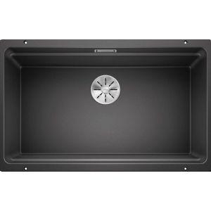 Image For Blanco Kitchen Sink Etagon 700-U Silgranit® Puradur® Anthracite - BL468596