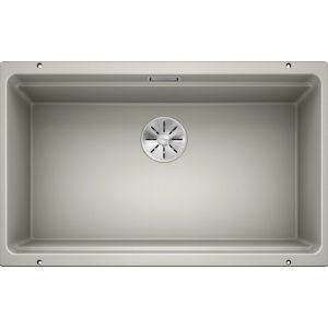 Image For Blanco Kitchen Sink Etagon 700-U Silgranit® Puradur® Pearl Grey - BL468550