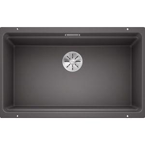 Image For Blanco Kitchen Sink Etagon 700-U Silgranit® Puradur® Rock Grey - BL468548