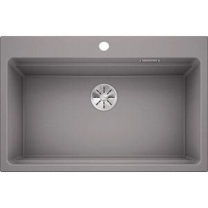 Image For Blanco Kitchen Sink Etagon 8 Silgranit® Alumetallic - BL468539