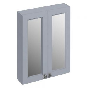 Image For Burlington 60 2-Door Mirror Unit- Classic Grey
