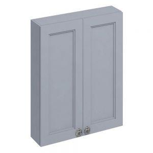 Image For Burlington 2-Door Wall Unit Classic Grey - 600mm