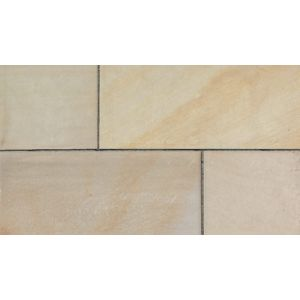 Image for Marshalls Fairstone Natural Stone Sawn Coping Stones Autumn Bronze Multi -  500X136X50 Straight (50 Blocks)
