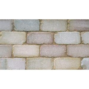 Image for Marshalls Fairstone Sawn And Tumbled Stone Setts Autumn Bronze - 10M2 (480 Blocks)