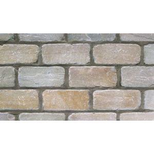 Image for Marshalls Fairstone Split And Tumbled Stone Setts Autumn Bronze - 200X100mm - 9.5M2 (400 Blocks)
