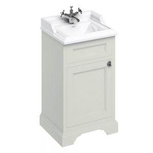 Image For Burlington 50cm Freestanding Cloakroom Vanity Unit & Basin - Sand