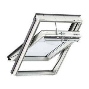 Image for VELUX White Painted INTEGRA GGL CK02 207021U Electric Laminated Roof Window 55x78cm