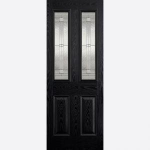 Image for LPD GRP Malton Black 2L Glazed Exterior Door