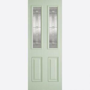 Image for LPD GRP Malton Green 2L Glazed Exterior Door