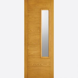 Image for LPD GRP Newbury Oak 1L Glazed Exterior Door