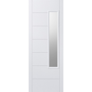 Image for LPD GRP Newbury White 1L Glazed Exterior Door