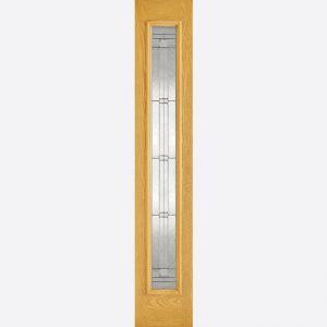 Image for LPD GRP Sidelight Oak Glazed 1L Elegant