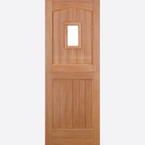 Image for LPD Barnburgh Stable 1 Lite Dowel Hardwood External Door