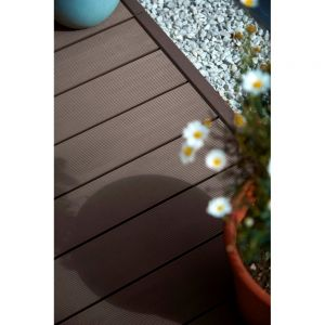 HD Deck 150 Composite Decking Board Walnut - 3600 x 150 x 25mm