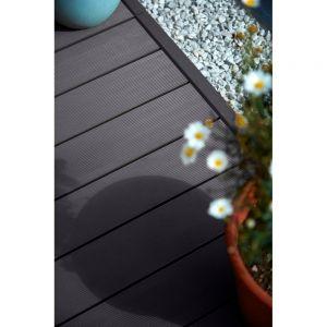 HD Deck 150 Composite Decking Board Lava - 3600 x 150 x 25mm